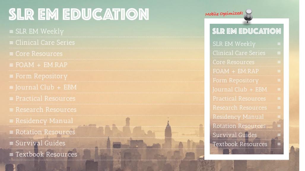 SLR EM Education Screenshot